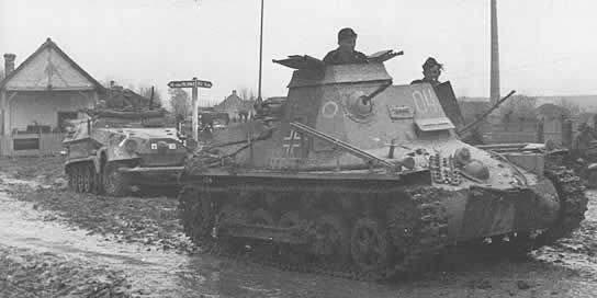 Panzerbefehlswagen I Ausf. B