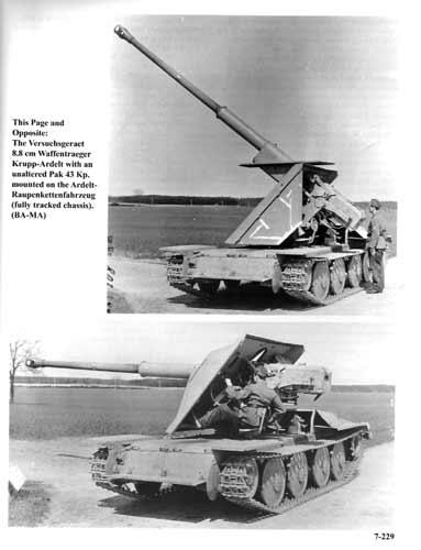Waffenträger 8,8cm Krupp-Ardelt