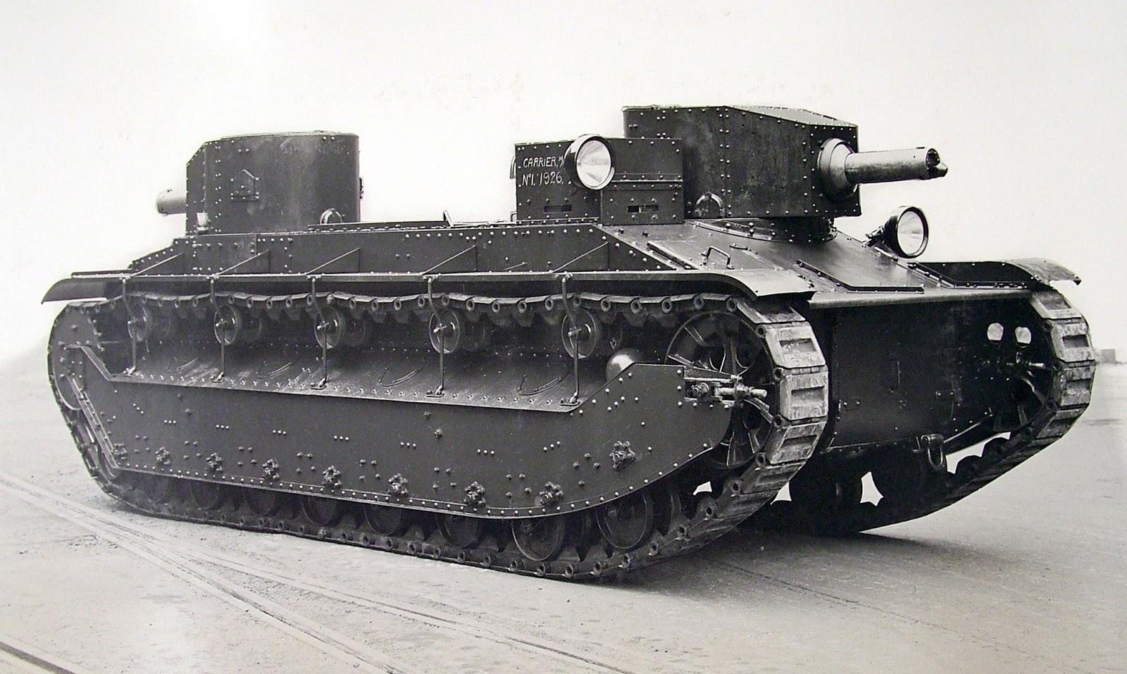 Carrier, Machine Gun, No. 1