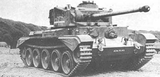 Cruiser Tank, Comet Mk. I
