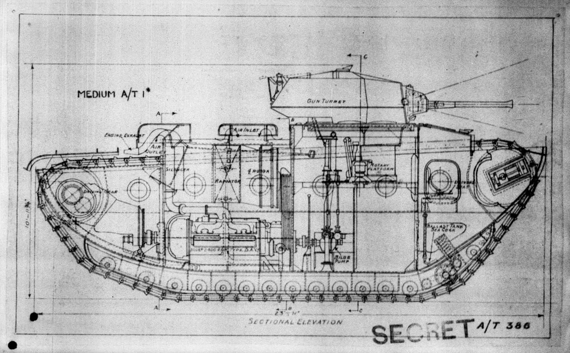 Medium Tank, A/T 1*