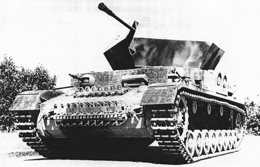 Flakpanzerkampfwagen IV (3,7cm FlaK 43)