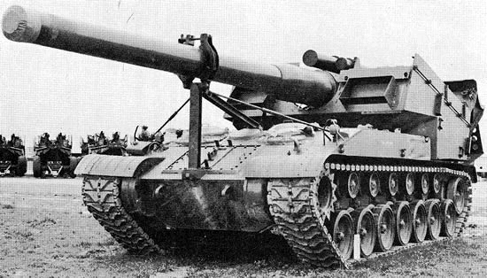 8-inch Gun Motor Carriage, T93