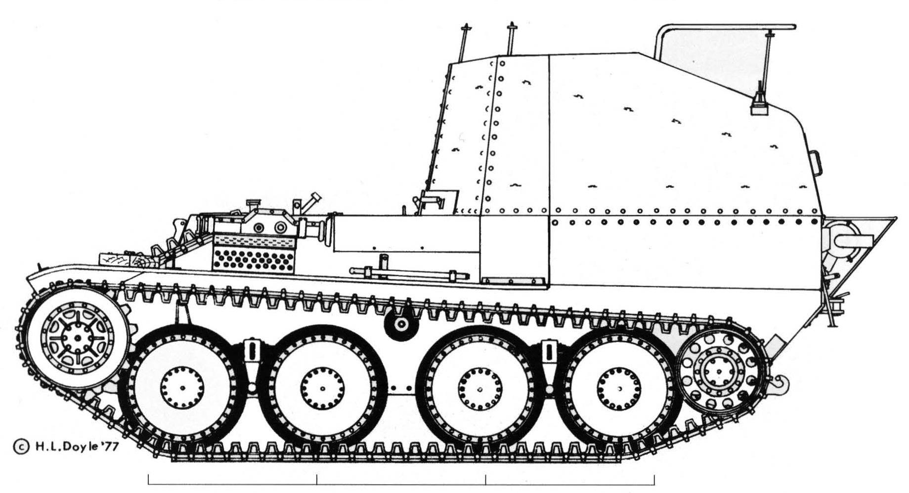 Geschützwagen 38 für Munition Ausf. K