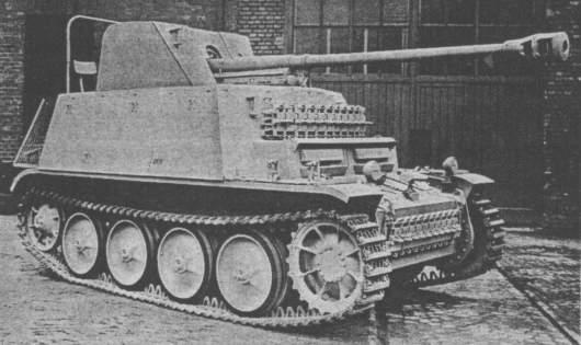 7,62cm PaK 36(r) (Sf) auf Fahrgestell Panzerkampfwagen II