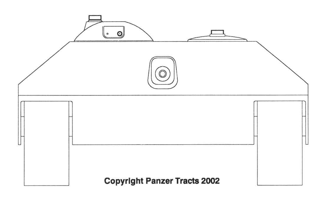 Aufklärungspanzer mit 5,5cm vollautomatischer Waffe