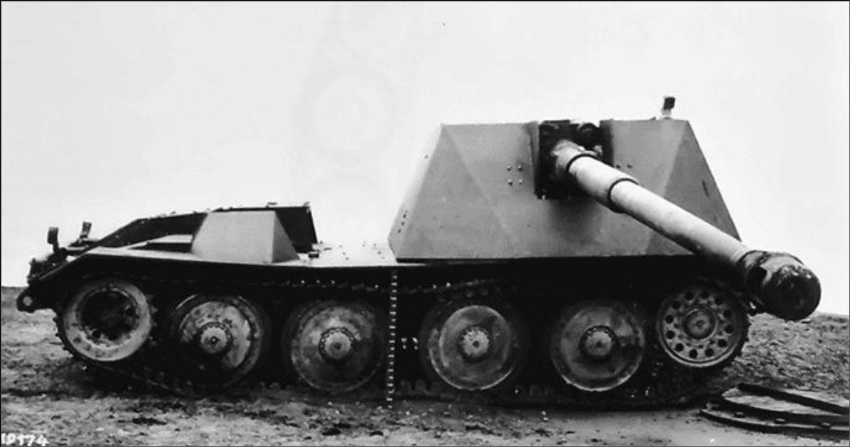 Waffenträger 8,8cm Rhm.-Borsig