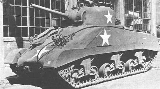 Medium Tank, M4A6
