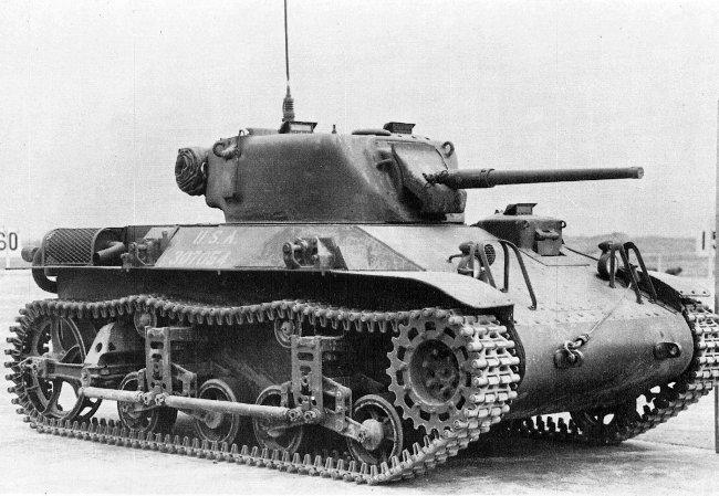 Light Tank (Airborne), M22