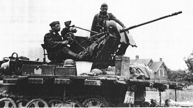 2cm FlaK 30 auf leichter Zugkraftwagen 1t
