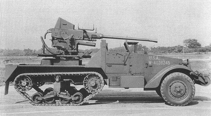 40mm Gun Motor Carriage, T54
