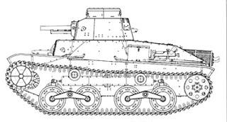 Experimental Type3 Light Tank 'Ke-Ri'