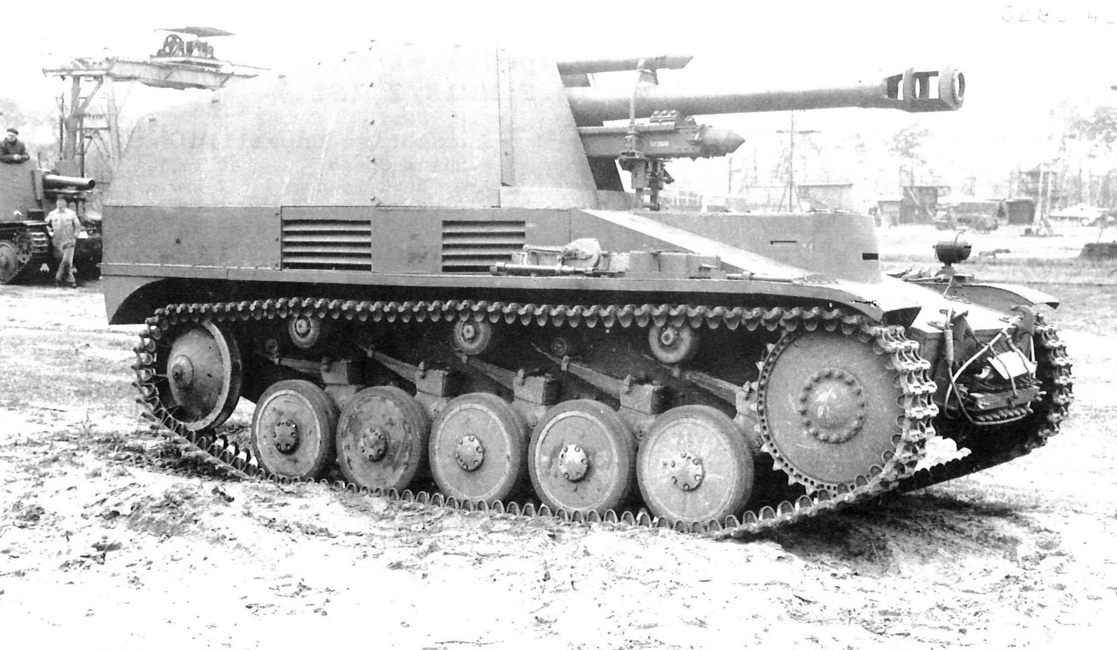 Geschützwagen II für 10,5cm leFH 18/2 (Sfl.)