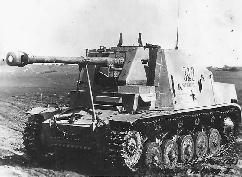 7,5cm PaK 40/2 (Sf) auf Fahrgestell Panzerkampfwagen II