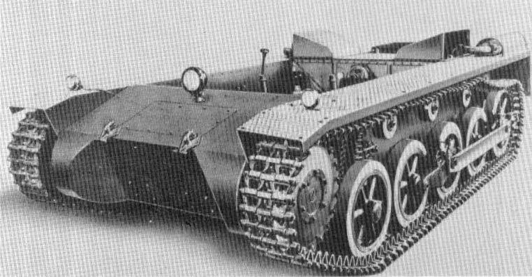 Panzerkampfwagen I Ausf. A ohne Aufbau