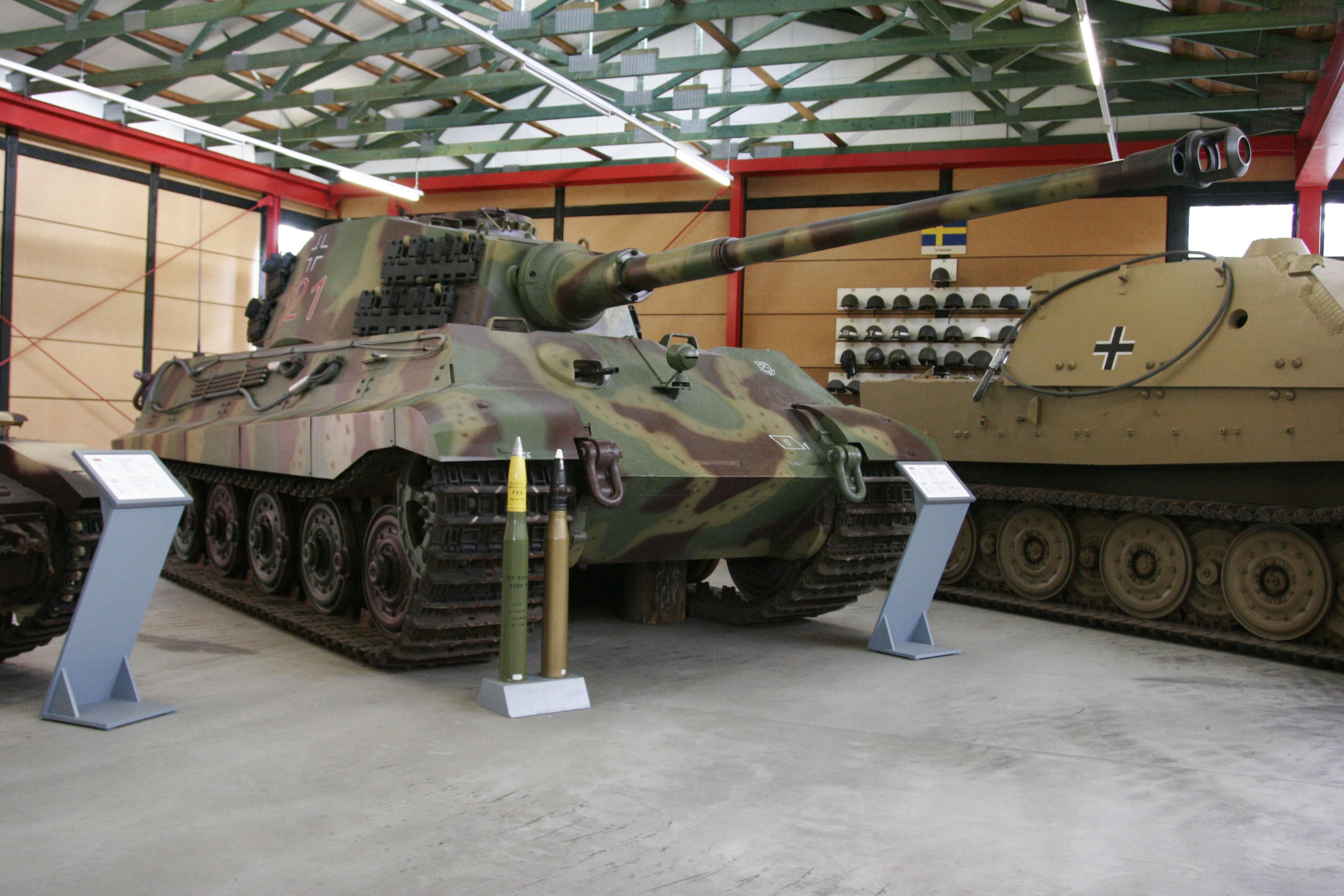 Panzerkampfwagen Tiger Ausf. B(H) mit Serien-Turm