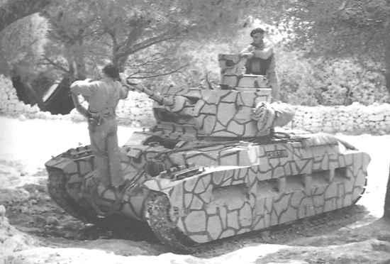 Infantry Tank Mk. II, Matilda Mk. III