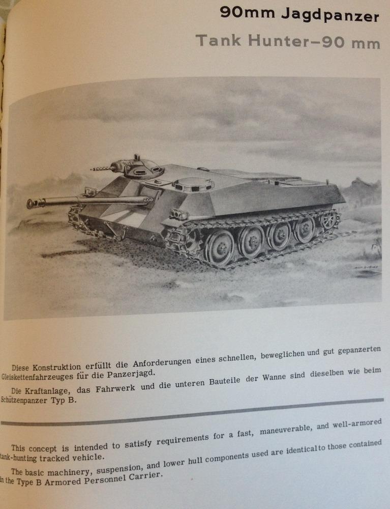 90mm Jagdpanzer