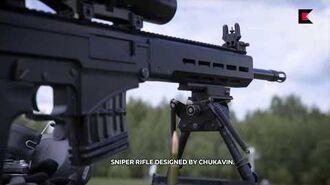 SVCh_–_Chukavin_designated_marksman_rifle