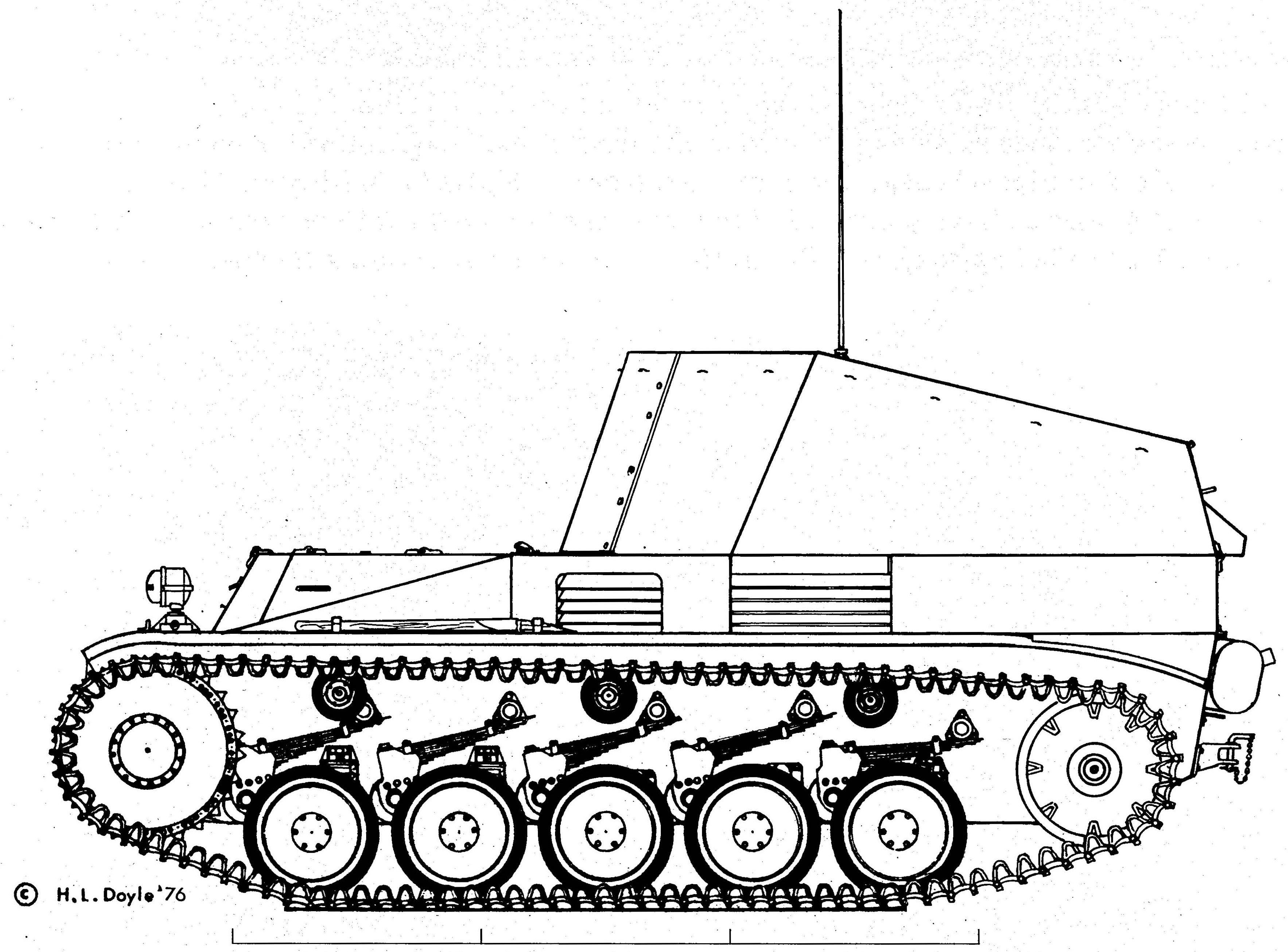 Geschützwagen II für Munition