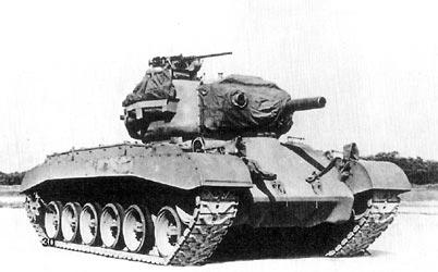 Medium Tank, M45