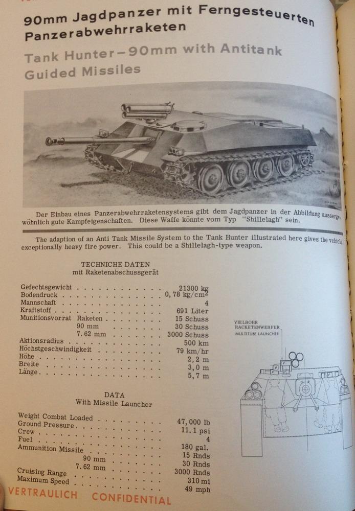 90mm Jagdpanzer mit Ferngesteuerten Panzerabwehrraketen