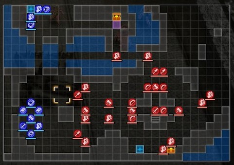 List of Campaign Maps in Fire Emblem: Three Houses (Crimson Flower)