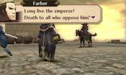 Farber in battle