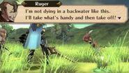 Ruger in battle