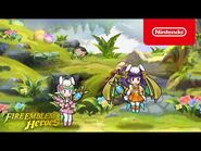 Fire Emblem Heroes - Harmonized Heroes, Myrrh and Nah