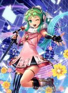 Tiki as a idol illustration by cuboon for Fire Emblem Cipher Series 4