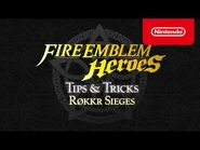 Fire Emblem Heroes - Tips & Tricks- Røkkr Sieges