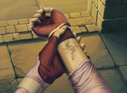 Micaiah's Blood Pact mark