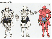 3H Female A Knight concept