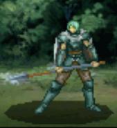 Arkis battle (lance foot)