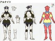 3H Female Cavalier concept