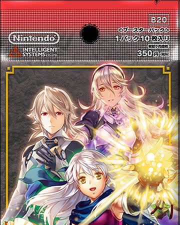 Fire Emblem 0 Cipher Marker Trading Card Corrin Female FOIL B19 Box Card Fates