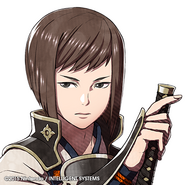 FE4 Hisame icono de Twitter
