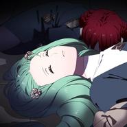 Flayn Monica Unconscious