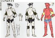 3H Male Cavalier concept