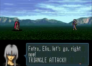 Vampa's Quote Initiating a Triangle Attack
