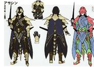 3H Male Assassin concept