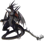 Black Dragon art