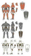 Armor Knight concept RD