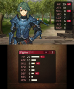 FE15 Level Up Stats