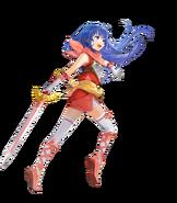 Shiida Princess of Talys Fight