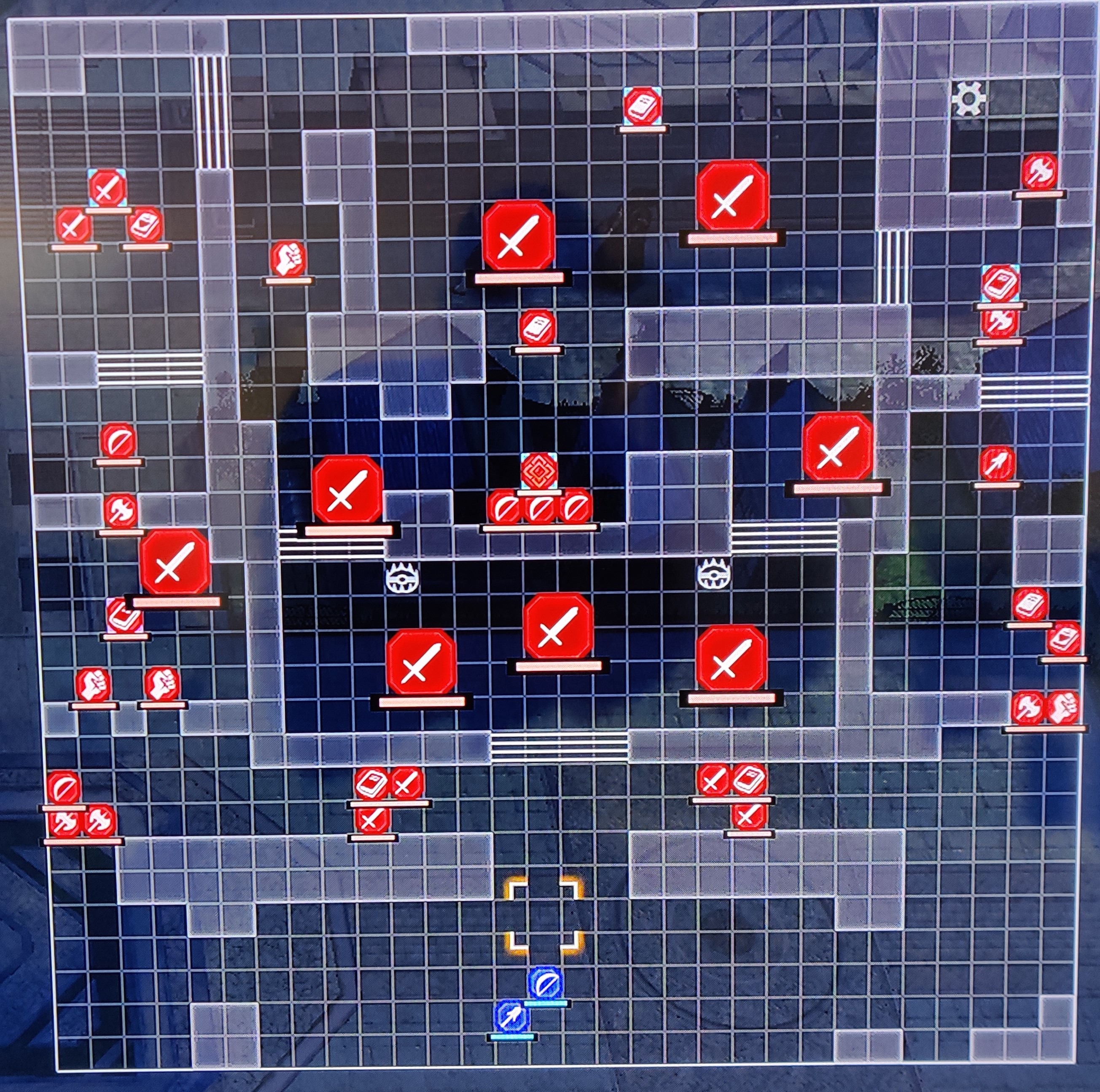 List of Campaign Maps in Fire Emblem: Three Houses (Azure Moon)