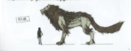FE3H Concept Art Giant Wolf