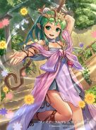 Tiki illustration by cuboon for Fire Emblem Cipher Series 4