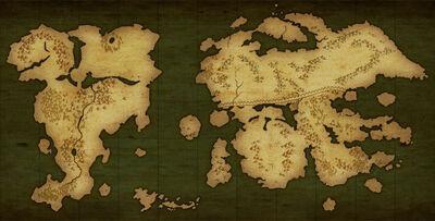 Weltkarte in Awakening